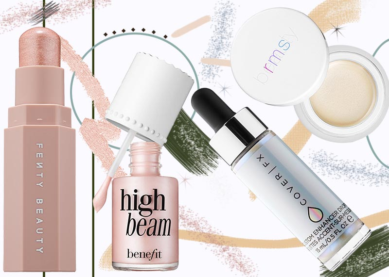 12 Best Highlighters for Every Skin Tone 2020: Strobing Makeup Guide