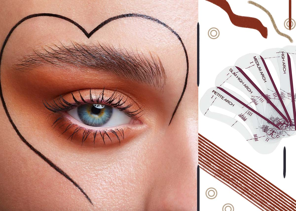 15 Best Eyebrow Stencils & Ways of Using Them