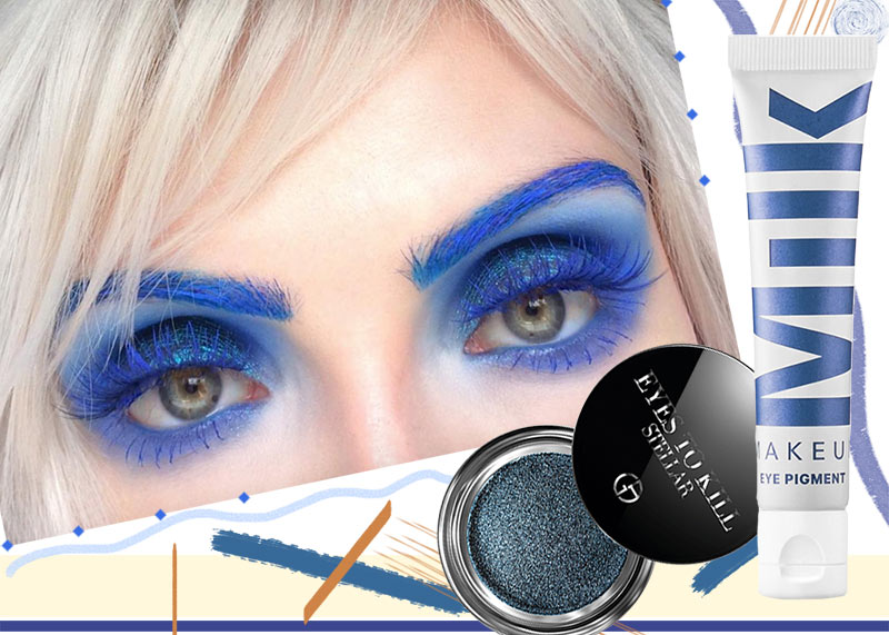 17 Blue Eyeshadow Shades to Master the Blue Eye Makeup Trend
