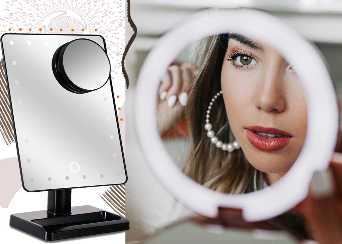 19 Best Lighted Makeup Mirrors in 2020: Mirror Lights for Makeup