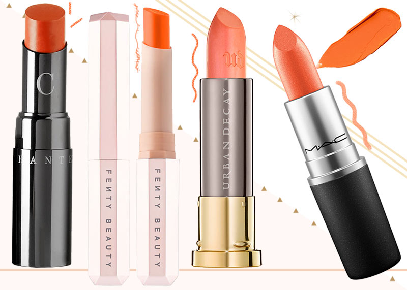 20 Best Orange Lipstick Shades for Every Skin Tone
