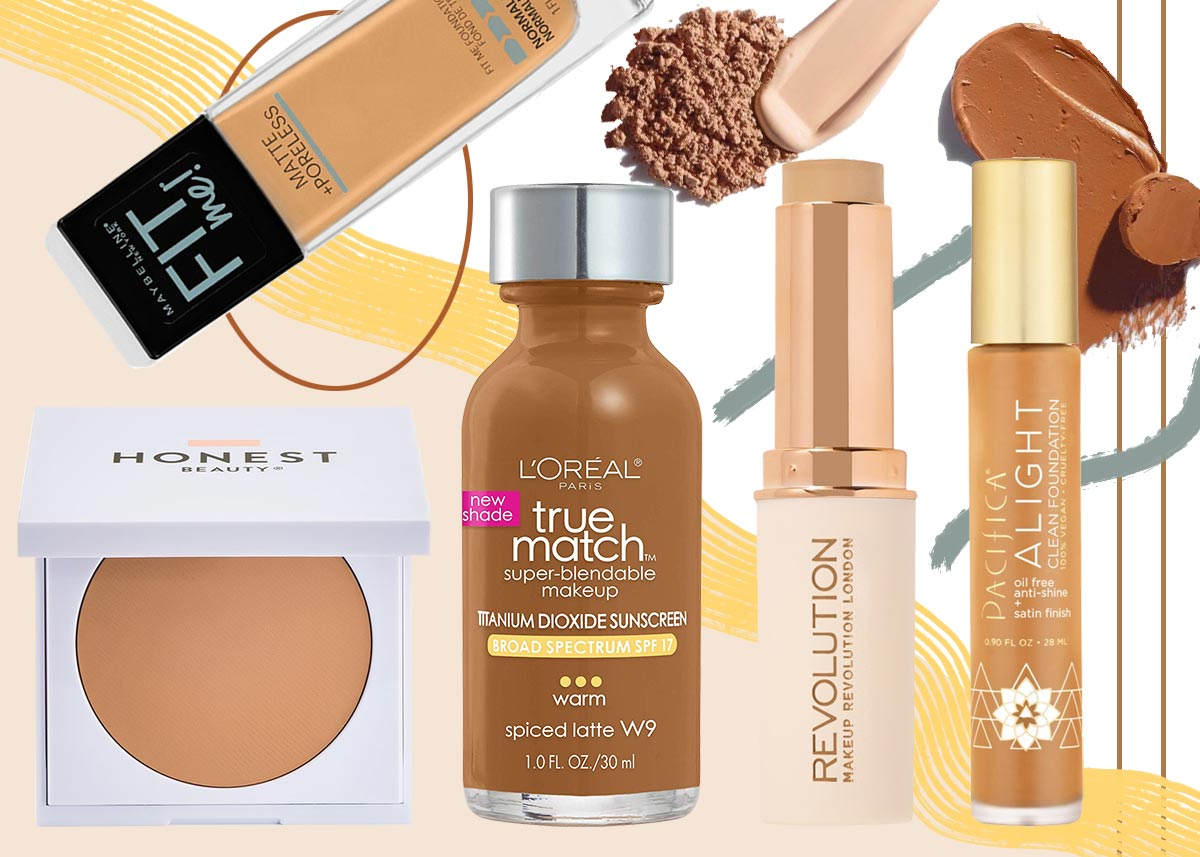 21 Best Drugstore Foundations For Your Skin Type In 2020 Make Up
