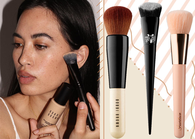 25 Best Foundation Brushes for Seamless Makeup Application