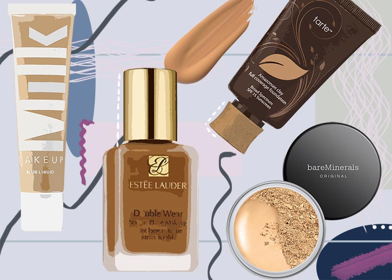 Best Foundation for Every Skin Type 2020: Foundation Makeup Guide