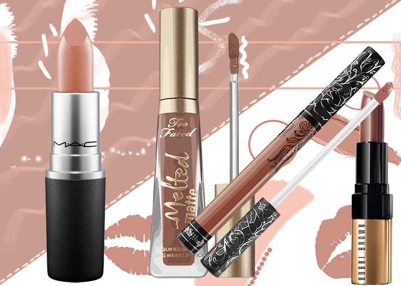 How to Apply Nude Lipstick