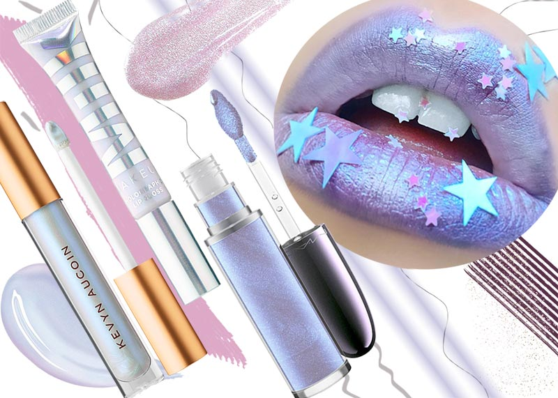 How to Wear Holographic Lip Gloss